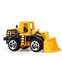 Construction Excavator Car Toys Push And Go Car Vehicles Toys For Kids 1 Piece(Bulldozer)