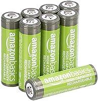 AmazonBasics voorgeladen NiMH AA-batterijen - oplaadbare batterijen, 500 cycli (standaard 2500 mAh, minimaal 2400 mAh),...