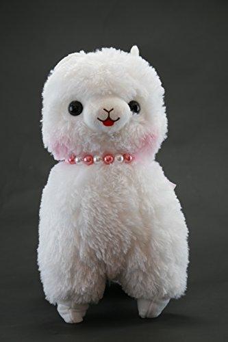 Alpaca Alpaca Alpacasso Alpaka weiß mit Kette groß (Kostüm Kitty Anime)