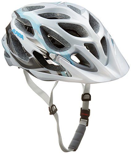 ALPINA Radhelm Mythos 2.0, White-Lightblue-Darksilver, 52-57, A9672.1.19