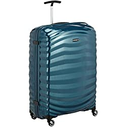 Samsonite Lite-shock Spinner 75/28 Valigia, Curve, Petrol Blue, 75 cm