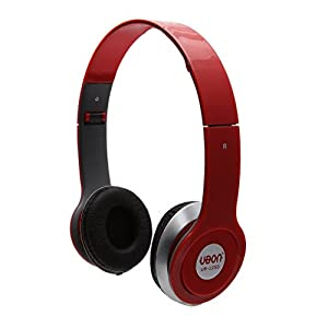 Ethnic Style Ubon UB-1250 MP3 On Ear Headphone With Pure Bass For All Smart Phones And Laptop (Color May Vary)