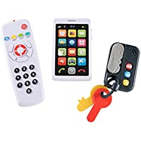 Early Learning Centre My First Gadget Set, TV Remote, Phone, Car Keys Baby Toddler Sounds Toys
