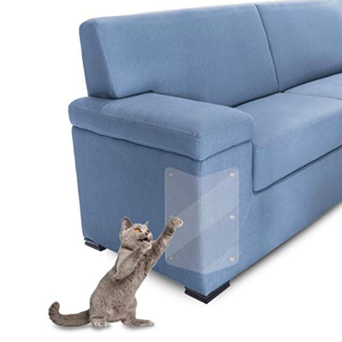 Cat Anti-Scratch, Sofa-Schutzfolie, Transparente Umweltschutz-PVC-Schraube, Wandschutzwinkel Cat Scratch Pad, Zum Schutz Ihrer Gepolsterten Möbel,L -