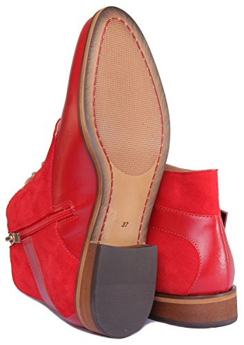 Justin Reece Mila, Sandales Pour Femme red