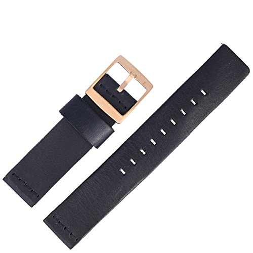Liebeskind Uhrenarmband 20 mm Leder Blau - Uhrband B_LT-0022-LQ