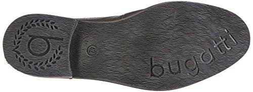 Bugatti F7532pr81, Bottes Desert courtes, doublure froide homme Noir - Schwarz (grau/schwarz 177)