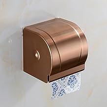 Aviones de papel higiénico-- Aluminio del espacio de baño estante de toalla, papel higiénico Toalla soporte del papel higiénico ( Color : C )