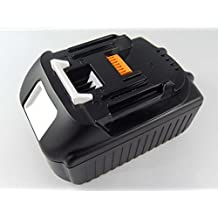 INTENSILO Li-Ion batería 2500mAh para herramienta eléctrica Makita BHP456RFE3, BHP456RFWX, BHP456Z, BHP458, BHR202 por BL1815, 194204-5.