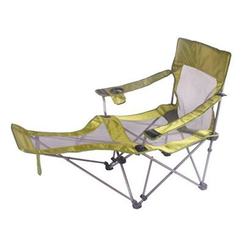 HCF OUTDOOR PRODUCTS CO Oversized Beach Quad Chair, Lime Green Mesh