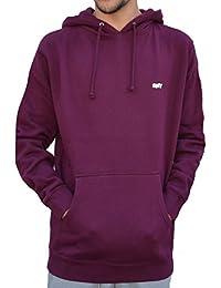 Obey Lo-fi Po Fleece Sweatshirt Homme Bordeaux