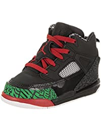 sale retailer 03f89 310ca Nike Jordan Toddlers Jordan Spizike Bt Black Varsity Red Basketball Shoe 7  Infants US
