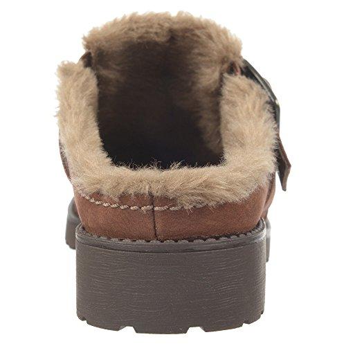 Naturalizer Ernesta Mule Bridal Brown Nubuck Leather