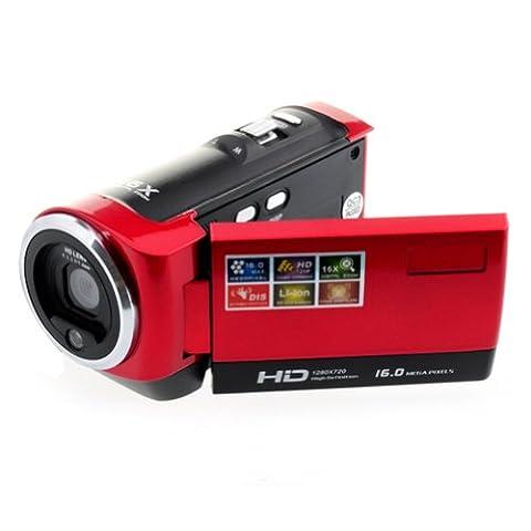OftenTM 2,7 pouces LCD Caméscope HD Vidéo Numérique Caméra 1280
