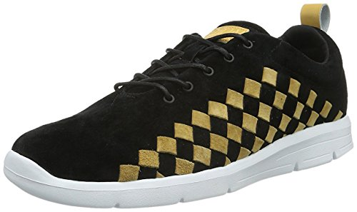 Vans Herren Tesella Sneaker Schwarz/Goldfarben