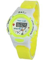 OPAKY Reloj Digital para Niños Niña Chicos Chicas Colorful Estudientes Time Reloj de Pulsera Deportivo Digital