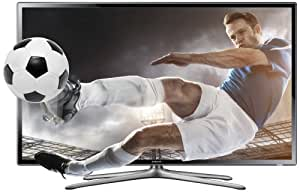 Samsung UE32F6100 32-inch 3D Widescreen 1080p Full HD Slim LED Television with Freeview HD (discontinued by manufacturer)