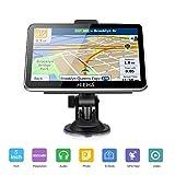 GPS Para Coches, HIEHA 5' Navegador GPS  8GB Pantalla Táctil De Alta definición, Mapa de 48...