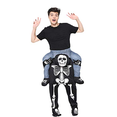 CHUAGNQI Halloween Party Kostüm großer Mann schwarzer