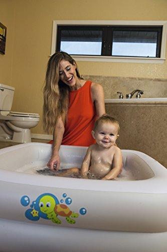 Bestway Baby Badewanne Baby Tub, 86x86x25 cm, farblich sortiert
