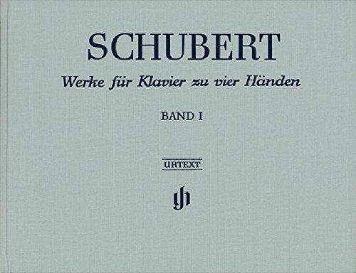 Oeuvres pour Piano a Quatre Mains, Volume 1 (Reliure Lin) par Schubert Franz