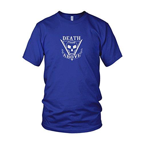 Death From Above - Herren T-Shirt Blau