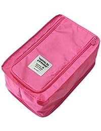 Missofsweet artículos de viaje impermeable zapatos bolsa portátil bolsas de zapatos bolso de viaje con cordón