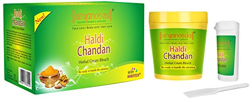 Aryanveda Haldi Chandan Bleach Cream, 250 g  available at amazon for Rs.171