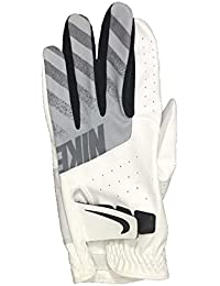 Nike Tech Glove Rrh Guantes, Hombre, Blanco (White/Black / Wolf Grey
