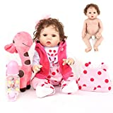 Zaoyun 45cm Brown Eyes Reborn Baby Full Body Silicone Realistic Doll Giocattolo Realistico Per Bambole Con Vestiti E Giocattoli