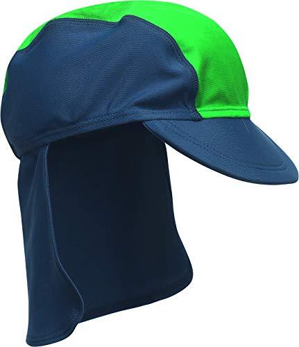 Playshoes - Mütze Baby Boy - Blue - Blau (Blau 791 / Grün) - DE: One Size (Hersteller Größe : 49) (Marke Größe: 49)