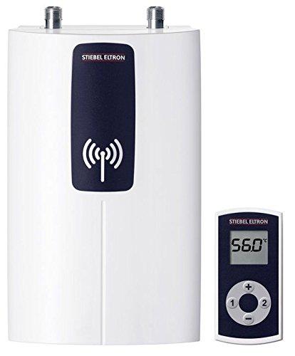 STIEBEL ELTRON DCE 11/13 compact RC mit Fernbedienung, elektronisch geregelter Durchlauferhitzer, wählbare Leistung 11 oder 13,5 kW, 230771