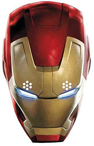 OFFICIAL MARVEL AVENGERS - AGE OF ULTRON - IRON MAN - CARD FACE MASK