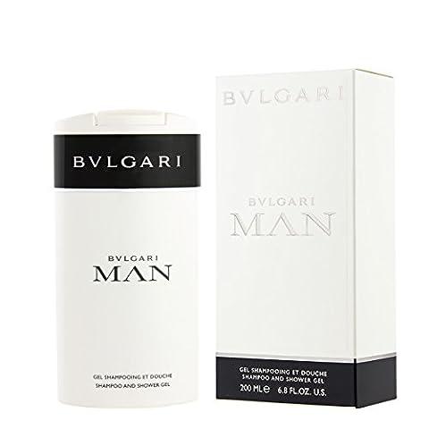 Bvlgari Man Hommen/Men, Shampoo and Shower Gel, 1er Pack (1 x 200 g)