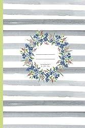 Notes ✽ The Floral Book No 17 by Hilla May: Notizbuch mit  50 Seiten ✽ 15,24 x 22,86 cm ✽ liniert ✽ Papier: cream ✽ Cover: matt & soft (Hilla May ✿ Flower Books, Band 200066)
