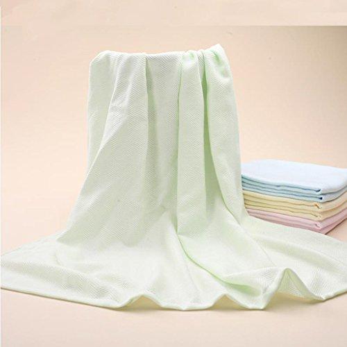 LYYYUJIN Einfache Pflege Baby-Bad-Tuch Superweiche saugfähige Bambusfaser-seitliche Tücher Neugeborene Bad-Tuch-Baby-Tuch Wasseraufnahme (Farbe : #1)