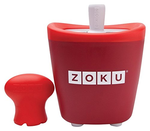 Zoku Single Quick Pop Maker Red ZK110-RD