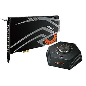 Asus PCI-Ex Gaming Strix PRO. Scheda Audio a 7.1 Canali, Nero/Antracite