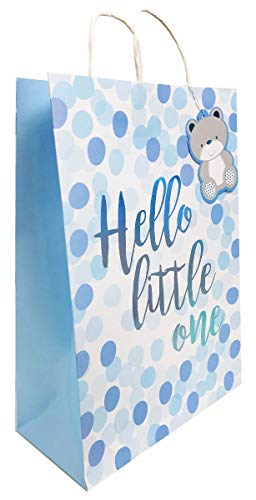 Hello Little One Blue New Baby Bag +Tape -Extra La