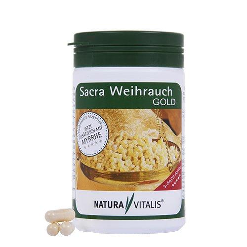 Myrrhe, Weihrauch (Sacra Weihrauch Gold + Myrrhe - 200 Kapseln)