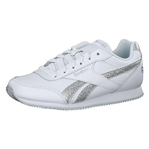 Reebok Royal Classic Scarpe Sneaker Bambini Ragazzi Bianco CN1325-WHITE