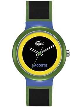Lacoste Unisex-Armbanduhr GOA Analog Silikon 2020032