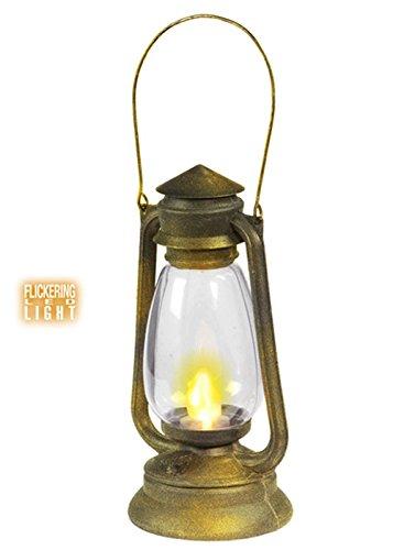 Altmodische Stütze leuchtet Laterne