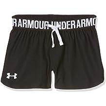 Under Armour Play Up Short Camiseta Deporte, Niñas, Negro (Black), YXL