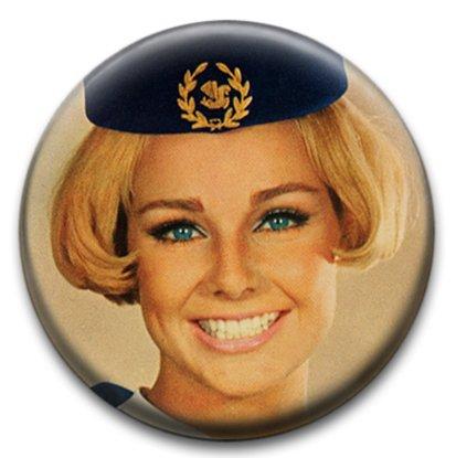 air-hostess-badge