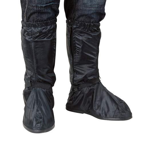 Oxford Rainseal wasserdichte Motorrad Über Stiefel 2XL OBXXL - Schwarz, M