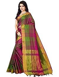 Nirmla Fashion Women's Art Silk with Blouse Piece Saree