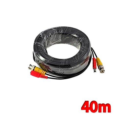 Preisvergleich Produktbild Kabalo 40m BNC-Kabel für CCTV-Kamera DVR Videoleistung Sicherheitsüberwachung