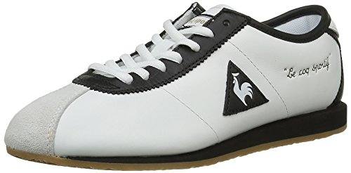 Le Coq Sportif Wendon W, Baskets Basses Femme Blanc (White/Black)