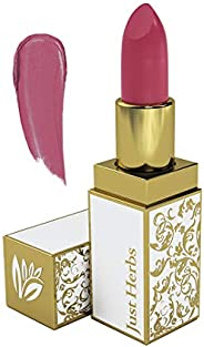 Just Herbs Herb Enriched Ayurvedic Lipstick (Pink, Shade no. 1)